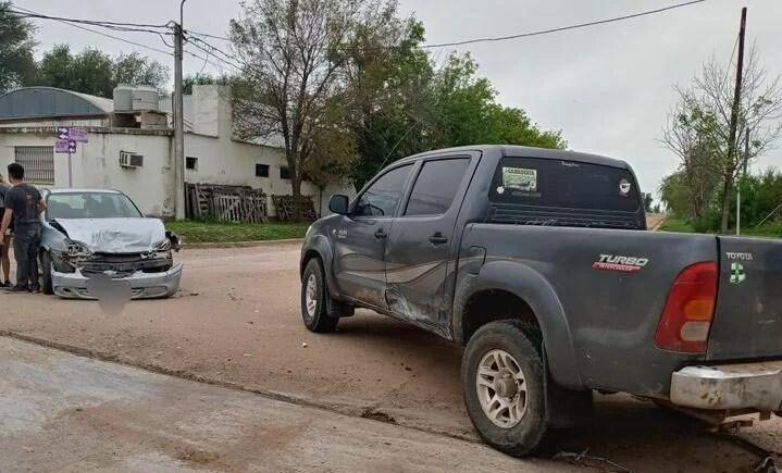 Jovita: Accidente de tránsito y heridos de consideración