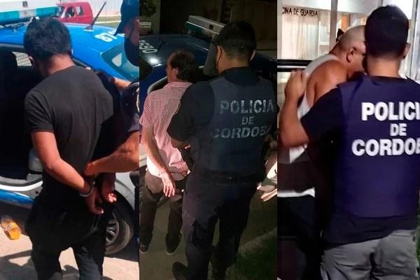 Villa María: 3 hombres presos por violencia en apenas 12 horas
