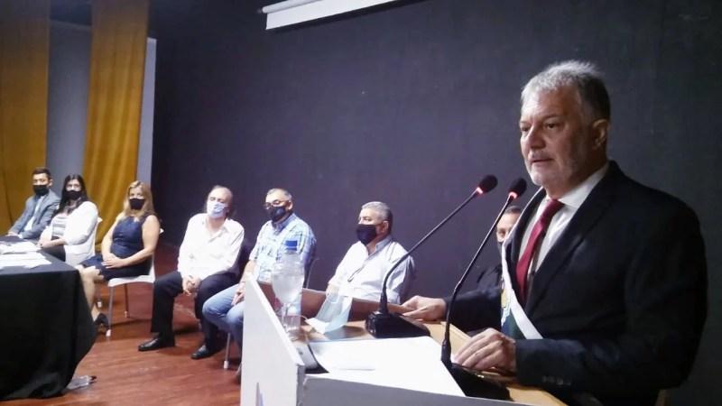 La Carlota: Fabio Guaschino, dejó inaugurado el periodo de sesiones ordinarias del Concejo Deliberante 2021.