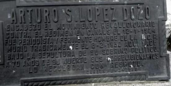 Arturo López Dozo (Extracto de la Editorial del Periódico El Alma del Pueblo – Nro 6 – Año 1930)