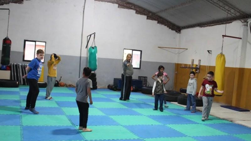 Retoman la práctica de actividades en el Gimnasio Municipal.