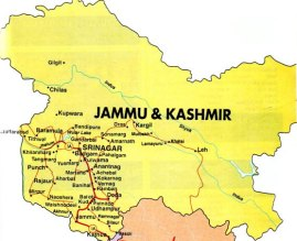 Image result for jammu and kashmir map
