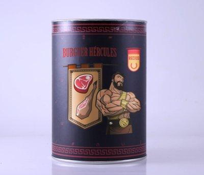 Burguer Hércules packaging