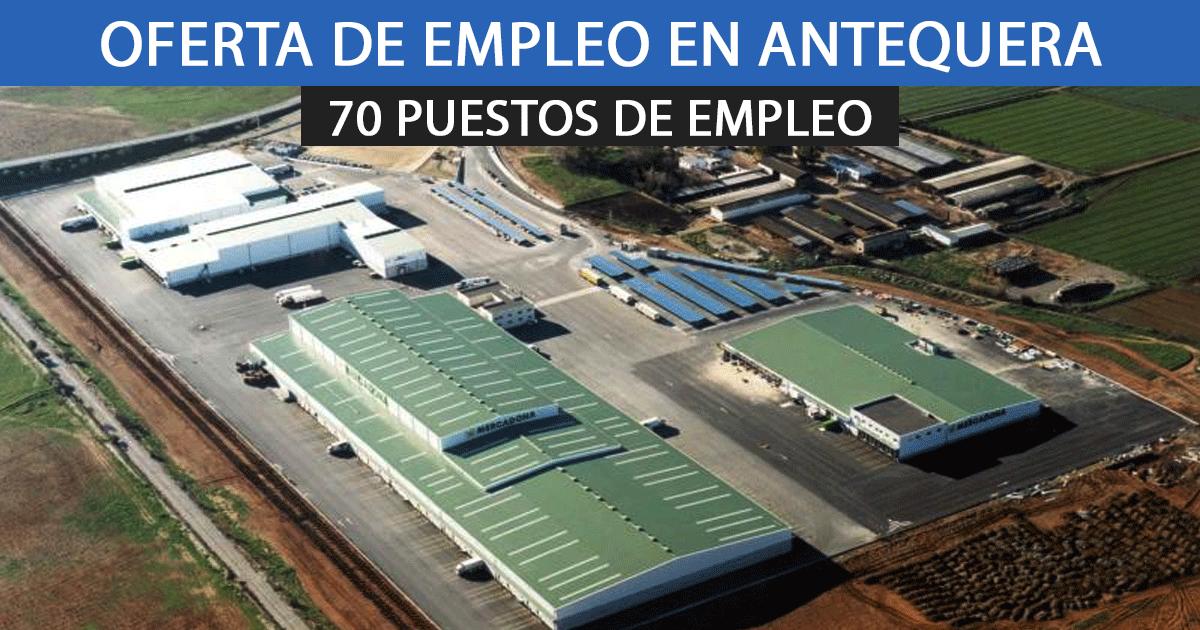 El centro logístico de Mercadona en Antequera precisa incorporar a 70 nuevos empleados