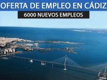 6.000 nuevos empleos para la Bahía de Cádiz