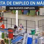 mozos de almacén en Vélez-Málaga