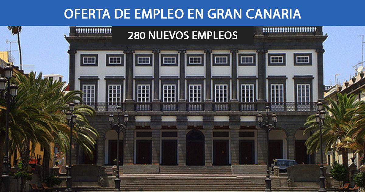 Se buscan 280 peones para trabajar en Las Palmas de Gran Canaria