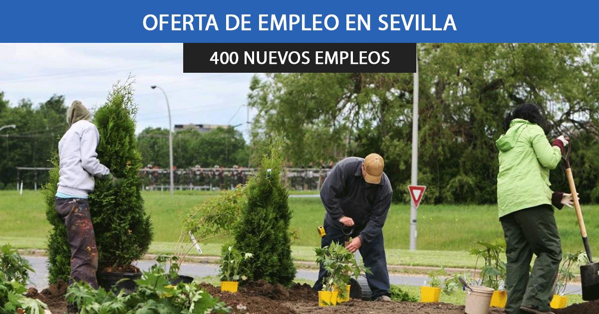 Se necesitan 400 trabajadores para trabajar para el Ayuntamiento de Utrera