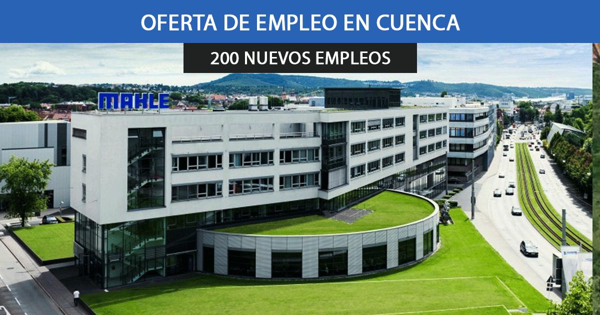 Se necesitan 200 trabajadores para las nuevas instalaciones de Mahle en Motilla de Palancar