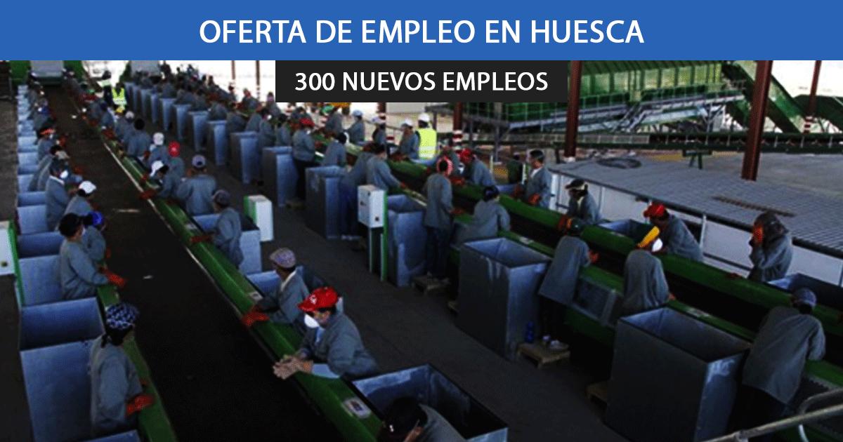 Se necesitan 300 trabajadores para planta de reciclaje en Gurrea de Gállego