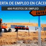 600 empleos en la planta fotovoltaica de Talaván