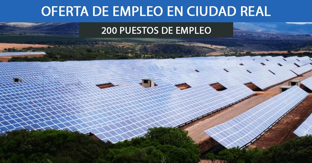 Se necesitan 200 trabajadores para el nuevo parque fotovoltaico El Bonal