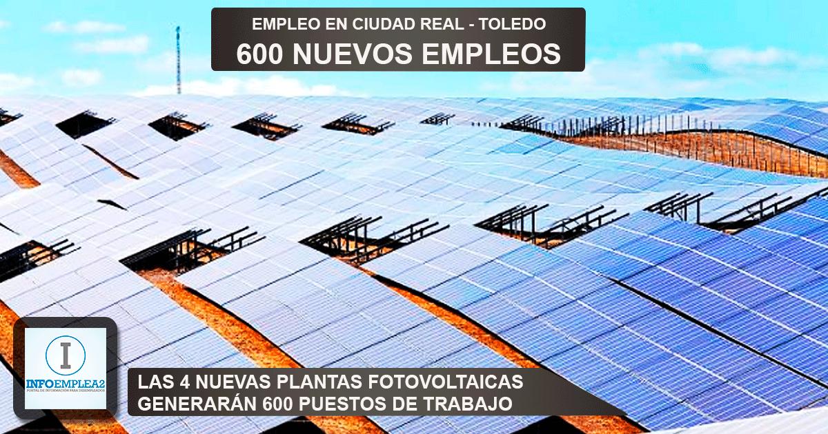 4 nuevas plantas fotovoltaicas