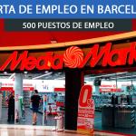 Se necesitan 500 Trabajadores en Barcelona para trabajar en Media Markt