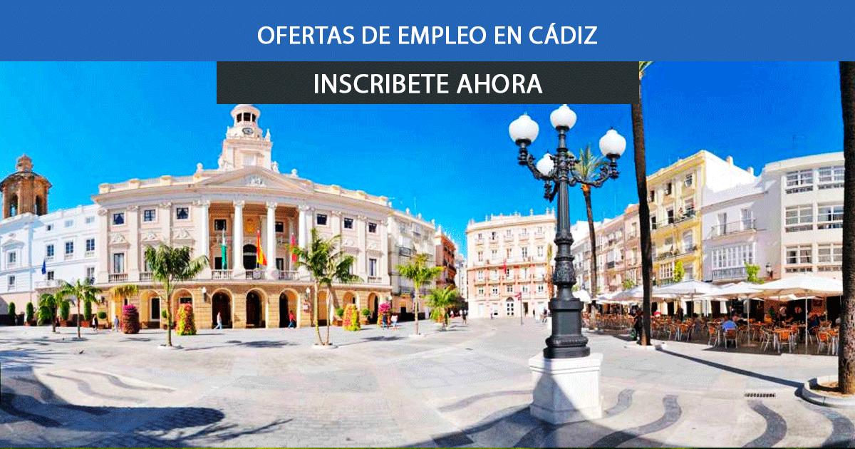Se necesitan más de 40 trabajadores en Cádiz para empezar a trabajar esta semana