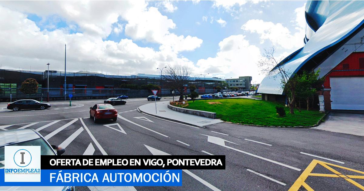 Se necesitan 50 Operarios para Fábrica Automoción en Vigo