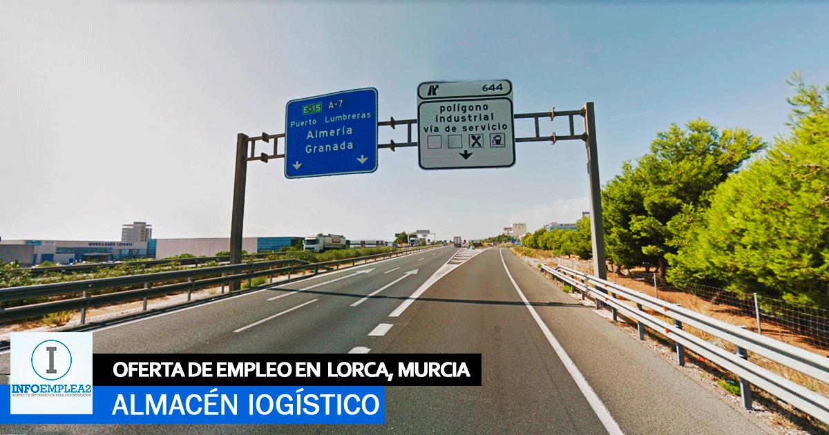 Se necesita Personal para Almacén Logístico en Lorca, Murcia