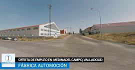 Se necesita Personal para Fábrica Automoción en Medina del Campo, Valladolid