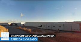 Se necesita Personal para Fábrica de Envasado en Valdejalón, Zaragoza