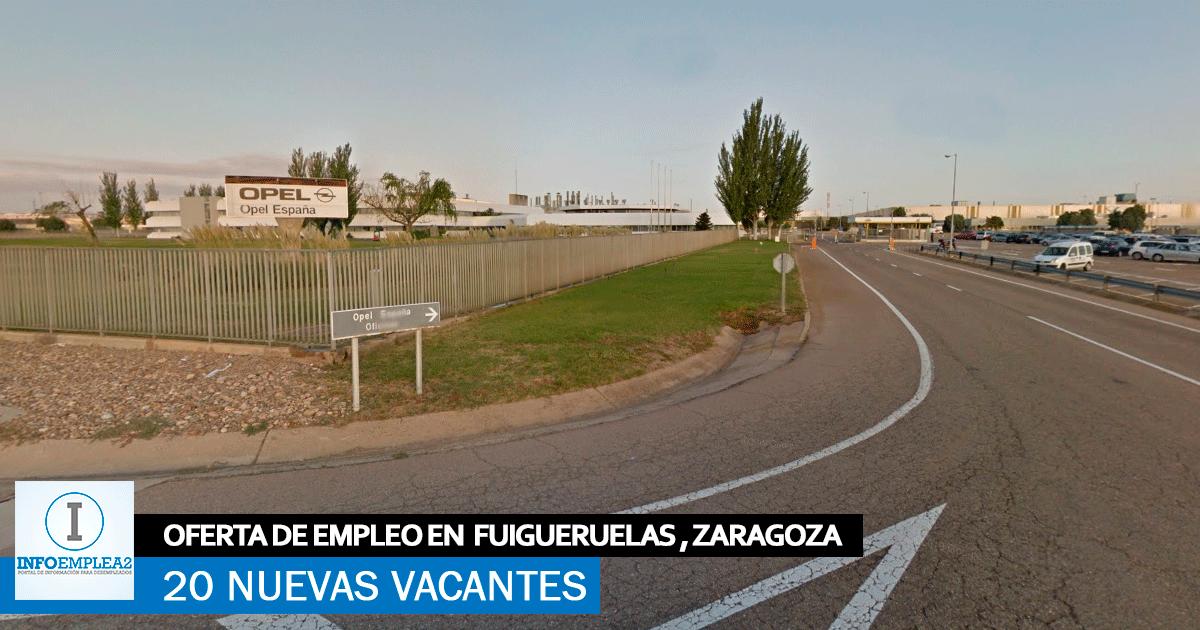 Fábrica PSA en Figueruelas precisa incorporar 20 nuevos empleados