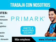 Se necesita Personal para trabajar en Primark