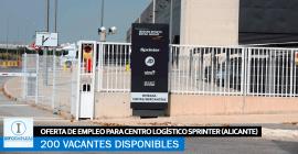 Se Necesitan 200 Trabajadores en Alicante para el Centro Logístico Sprinter