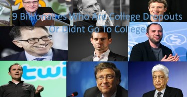 9 Billionaires Who Are College Dropouts Or Didnt Go To College