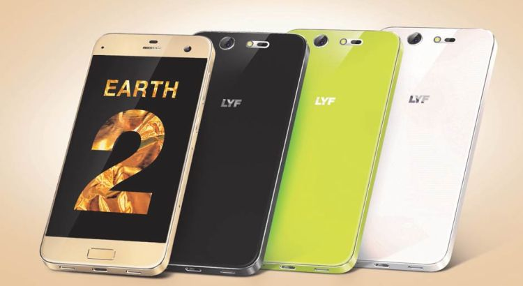 LYF Earth 2 launched with Retina Scanner.
