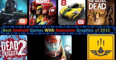Best Android Games With Awesome Graphics of 2016
