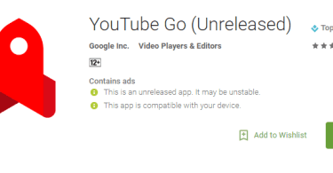 YouTube Go App Which Is Available In Beta Only For India