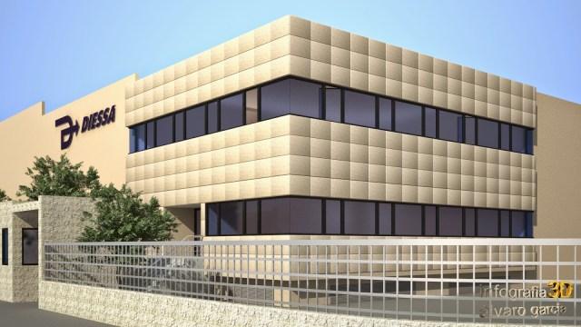 infografia 3d arquitectura madrid