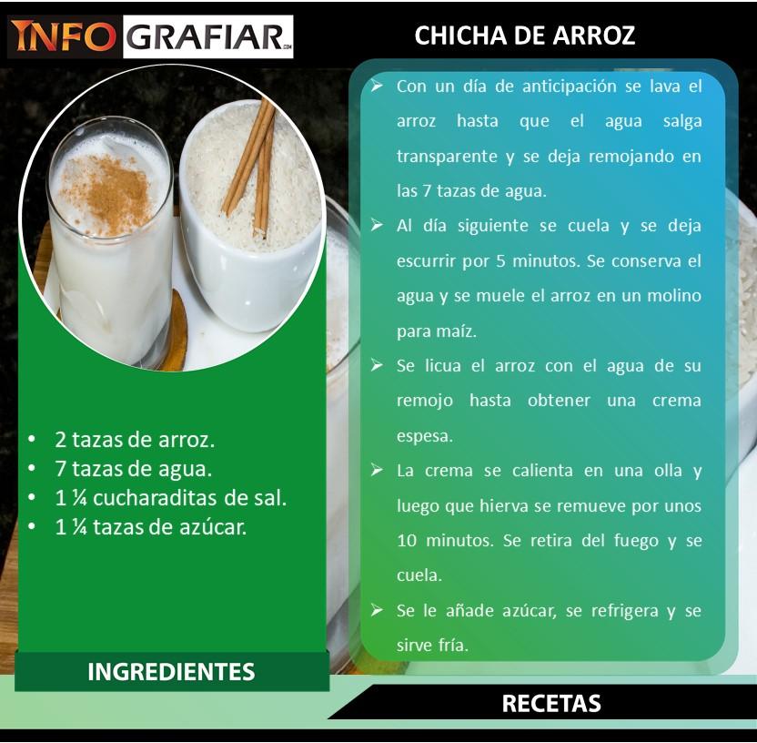 CHICHA DE ARROZ
