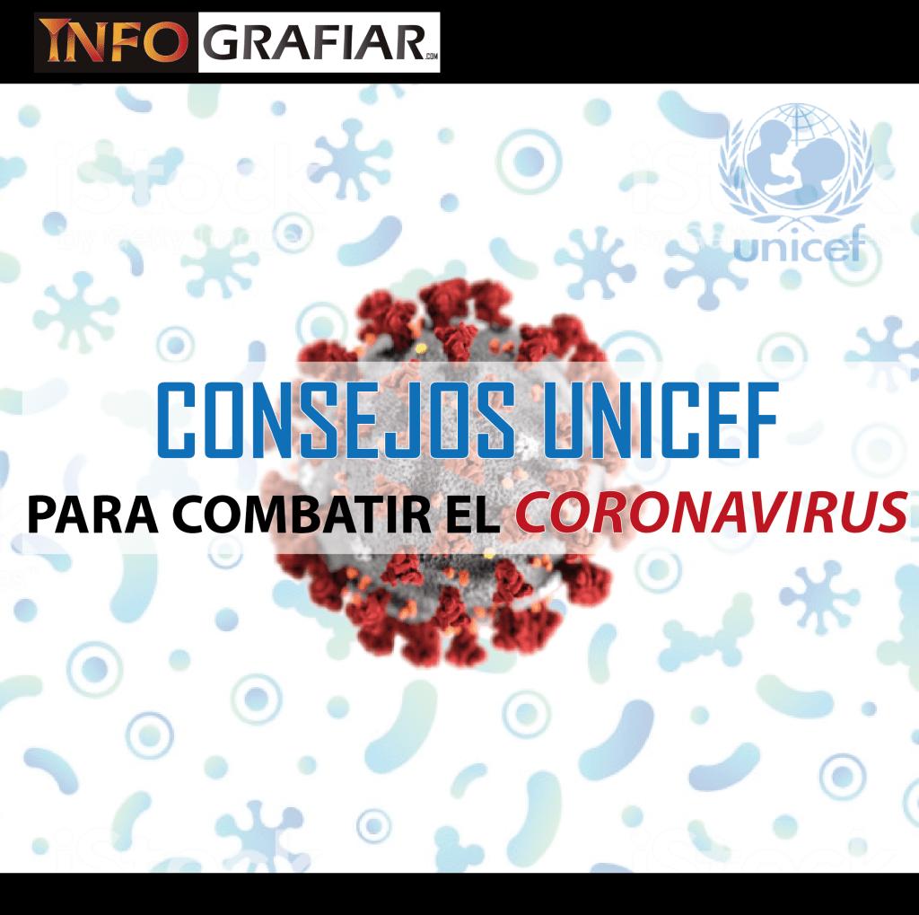 CONSEJOS UNICEF PARA COMBATIR EL CORONAVIRUS