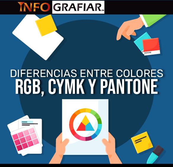 Diferencias entre RGB, CMYK y Pantone