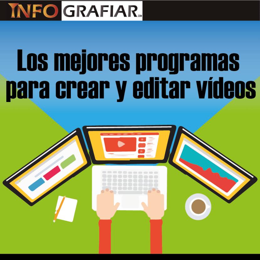 Los mejores programas para crear y editar vídeos