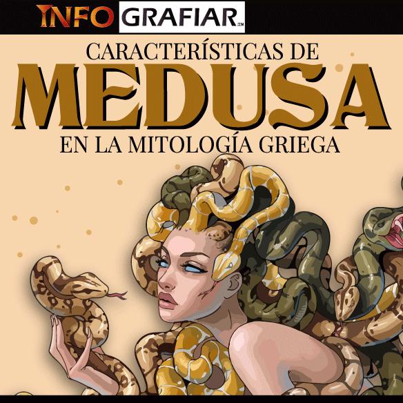 Características de Medusa en la Mitología Griega
