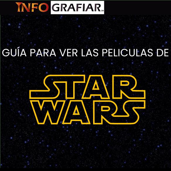 ¿Quieres ver las películas de Star Wars pero no sabes por donde empezar?