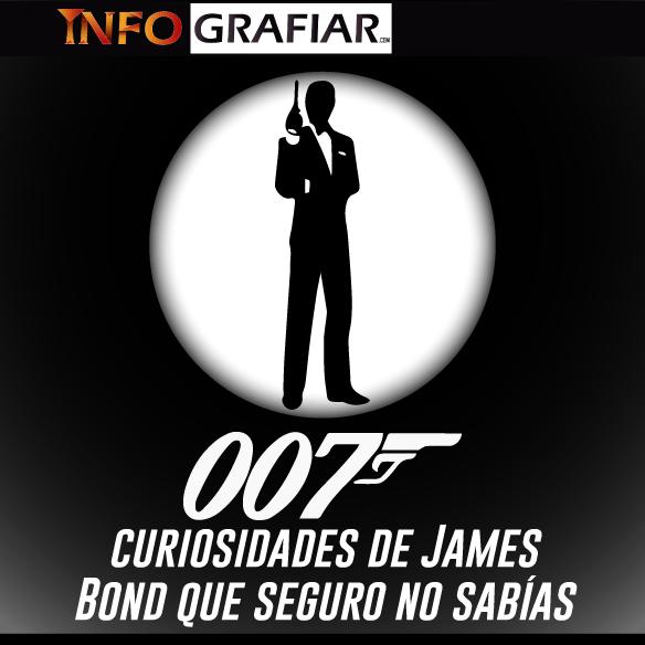 007 curiosidades de James Bond que seguro no sabías