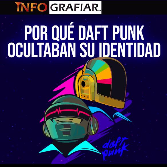 Por qué Daft Punk ocultaba su identidad