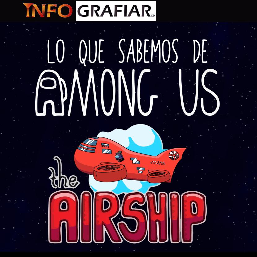 Nuevo Mapa de Among Us The Airship