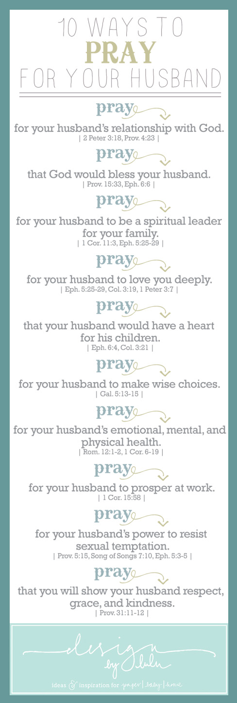 10 Ways to Pray for Your Spouse