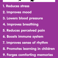 Infographic: 14 Health Benefits of Singing