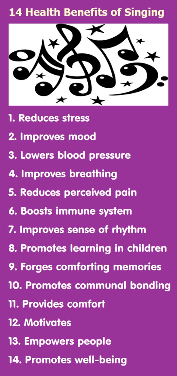 14 Health Benefits of Singing