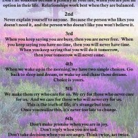 The 7 Golden Rules of Life
