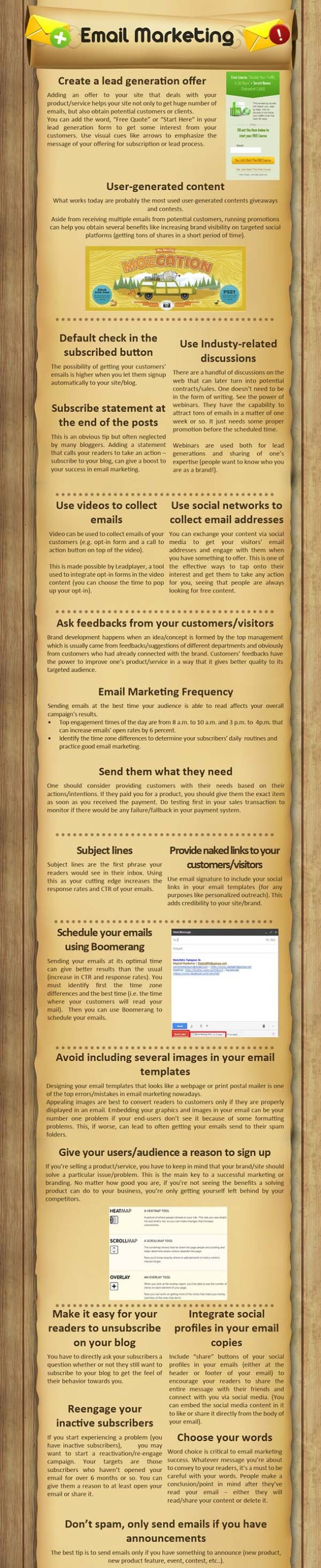 Blog Marketing - Email Marketing
