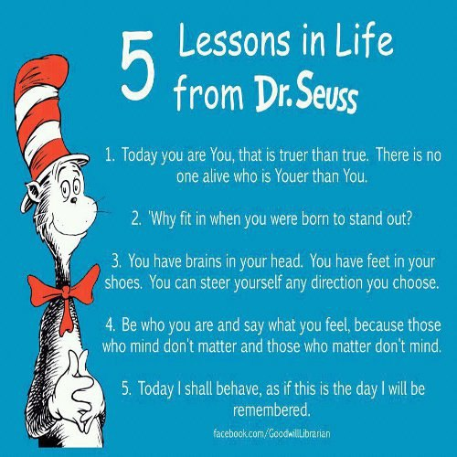 Dr Seuss on Life