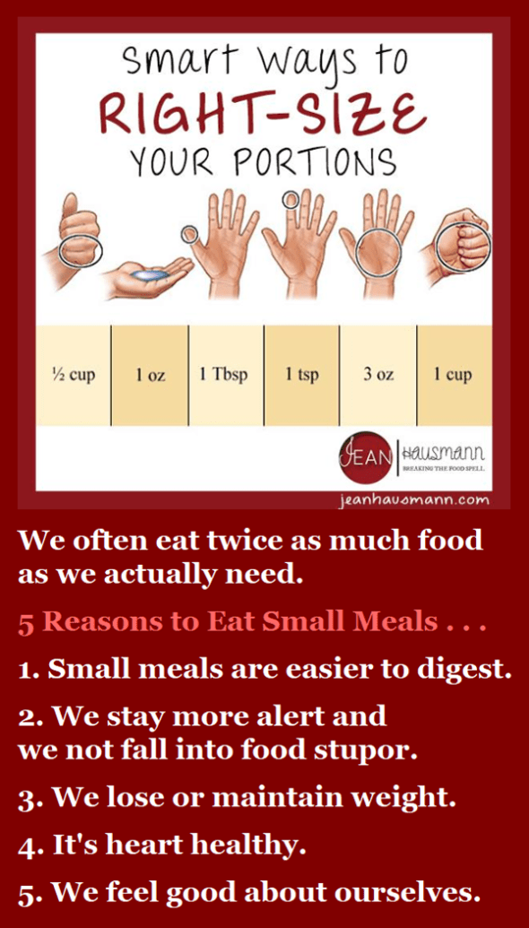 5 Reasons to Eat Small Meals
