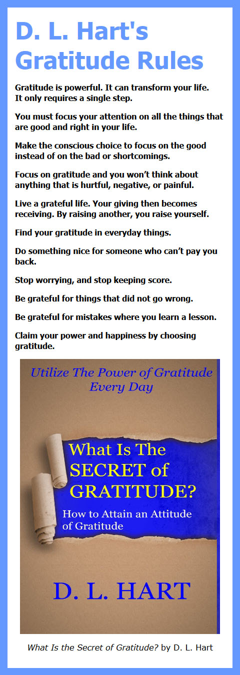 Gratitude Rules