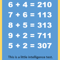 A Little Intelligence Test Meme