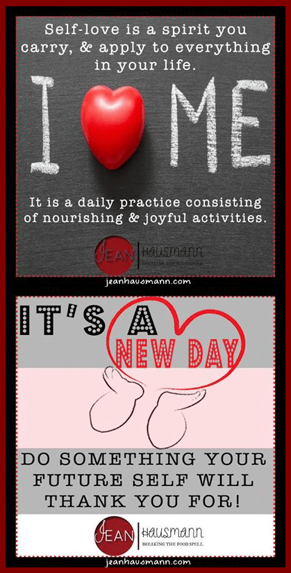 Jean Hausmann Self-Love Infographic